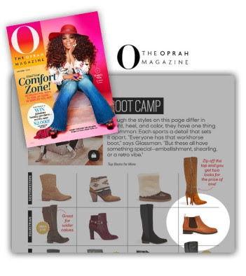 Vionic Boots, feature, O Magazine, Oprah