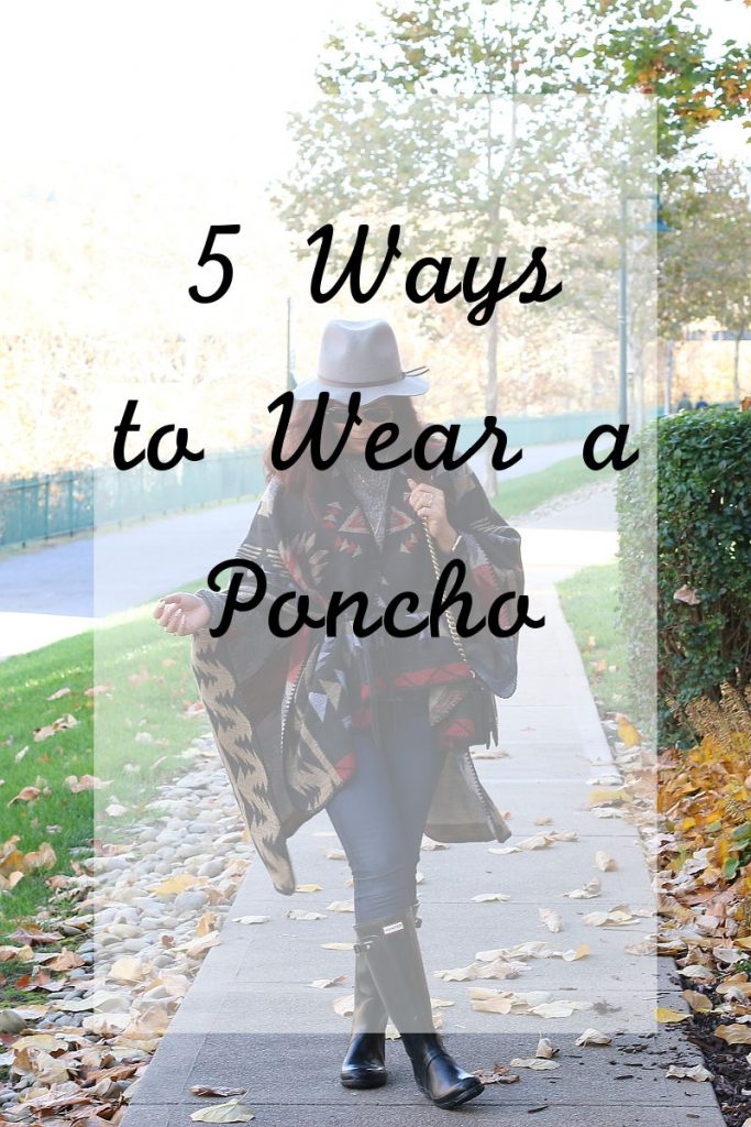 tips, fashion, poncho, fall outfit