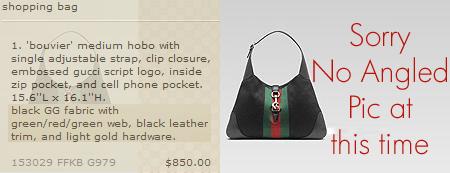 Black Gucci Bag, purse