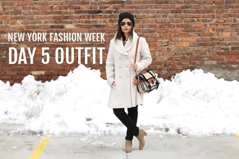 NYFW FW14 Day 5 OOTD, New York Fashion Week, outfit, fashion