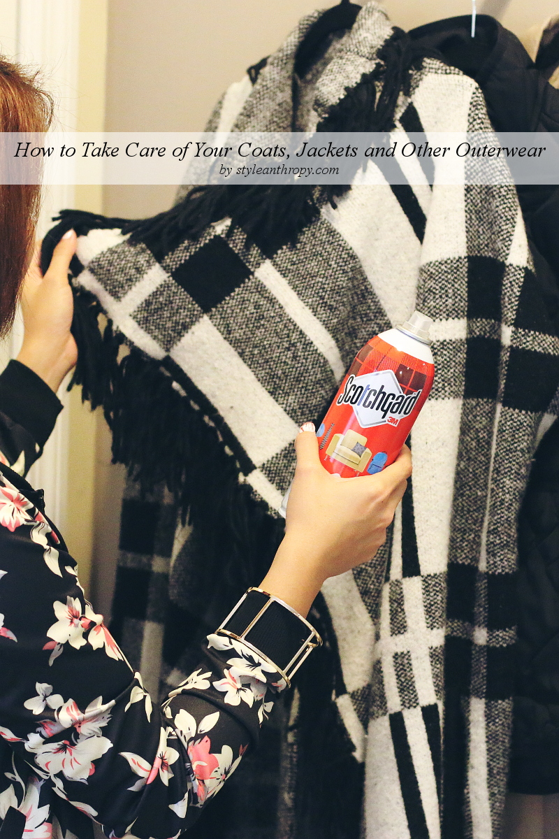 how to care for outerwear, jackets, coats, scotchgard