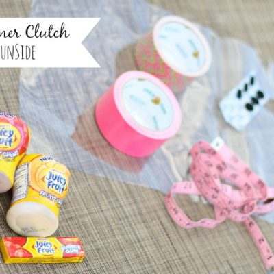 DIY Summer Clutch and Pool Essentials with Juicy Fruit