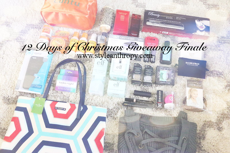 My Christmas Birthday Wishlist + Giveaway 12 Finale (CLOSED)