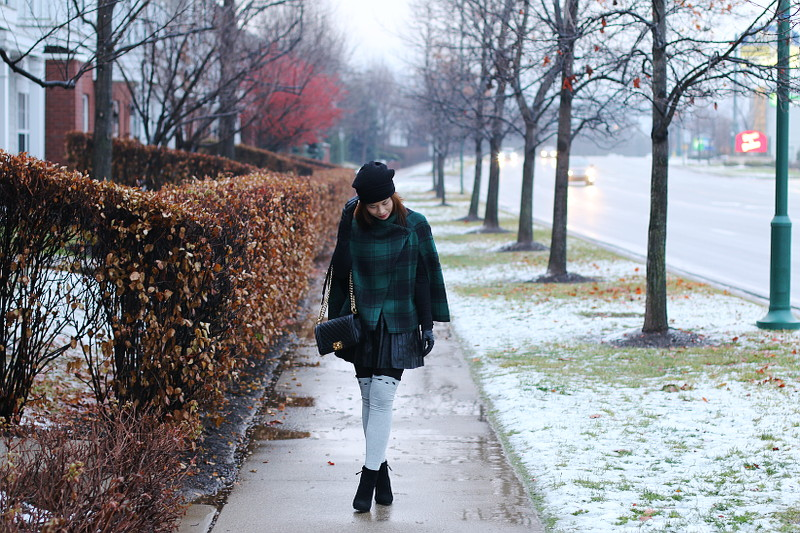 Layered in Winter Pieces