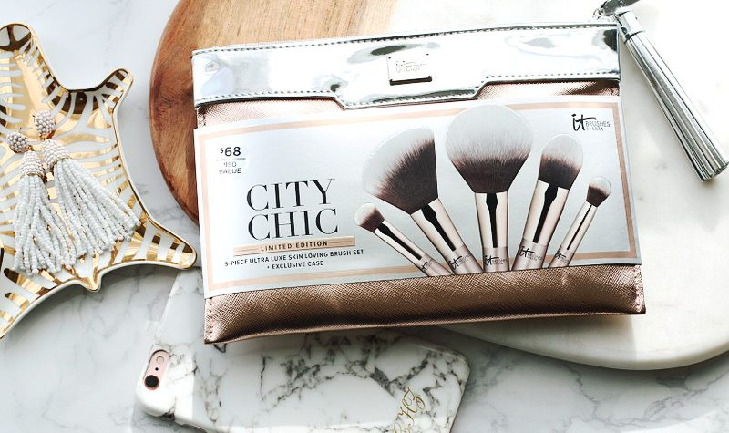 November Health and Beauty Favorites, IT Cosmetics Makeup Brushes, city chic brush set