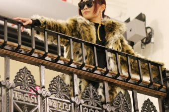 Faux Leopard Coat at Pet-Friendly Ace Hotel Pittsburgh