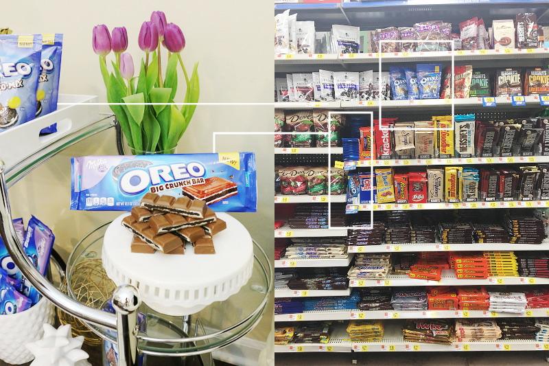Milka OREO at Walmart, Candy Chocolate Aisle
