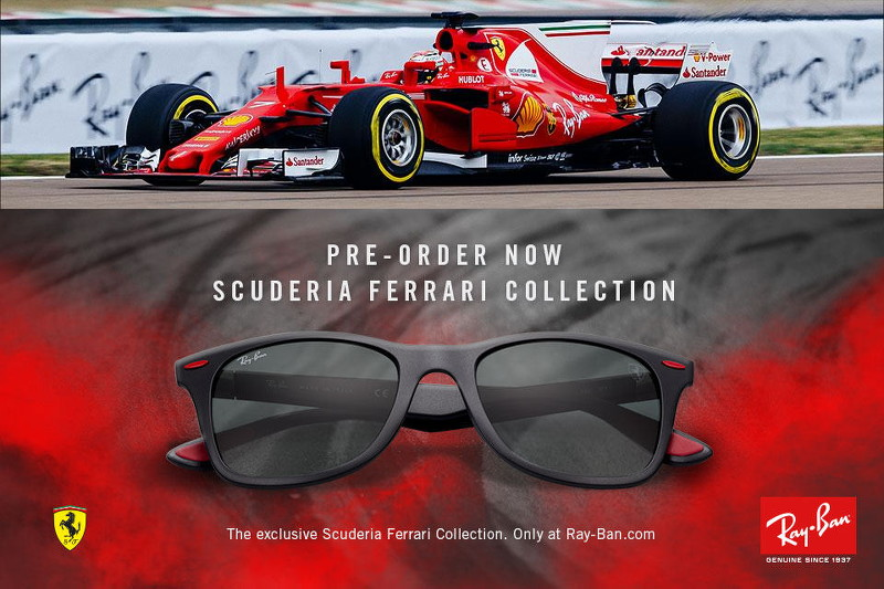 45cedc6b8cf2d Ray-Ban Scuderia Ferrari Collection - STYLEANTHROPY