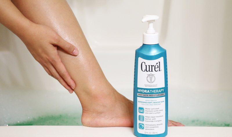 Curel Hydra Therapy Wet Skin Moisturizer, lotion, dry skin