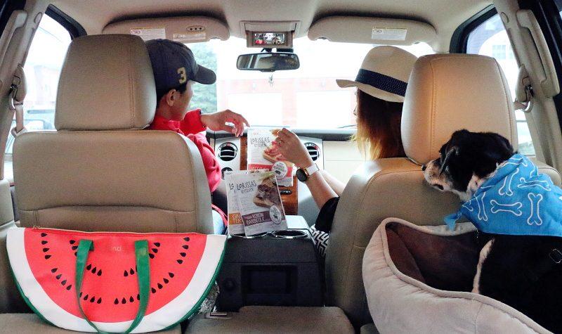 road trip snack, Lorissa's Kitchen, car