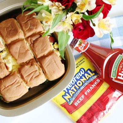 Breakfast Hotdog Sliders Recipe