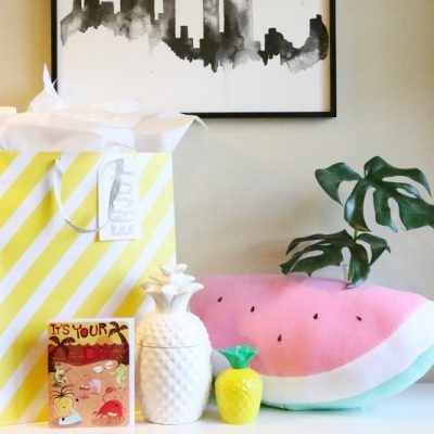 Summer Gift Idea: DIY Plush Watermelon Pillow