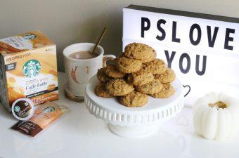 Fall, Pumpkin Spice Caffè Latte, and Cookies