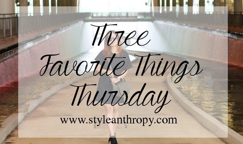 Thursday, Favorites, outfit