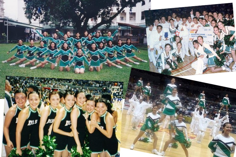 College cheerleading, pep squad, DLSU
