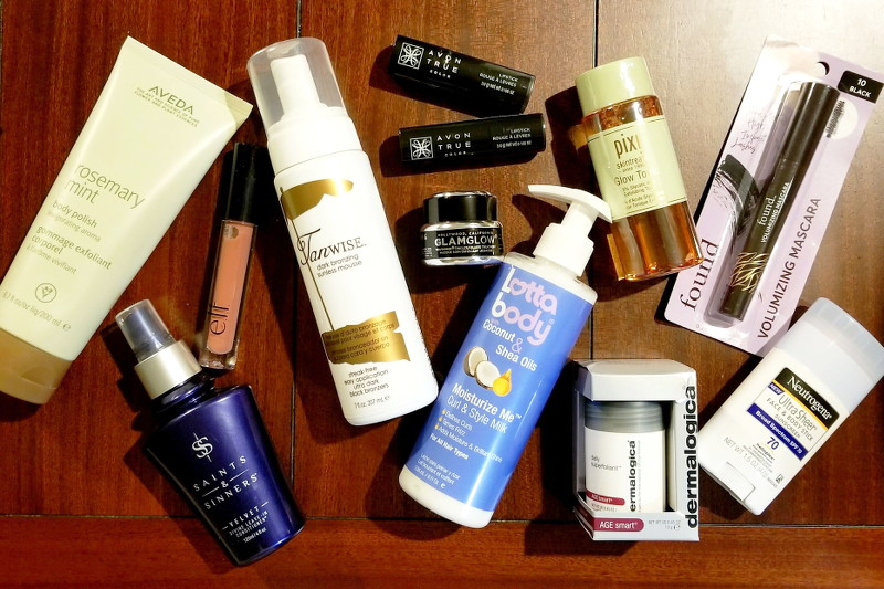 beauty products giveaway prize