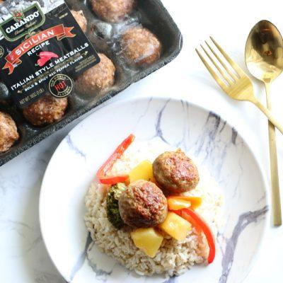 Quick Meals: Sweet & Sour Carando Meatballs