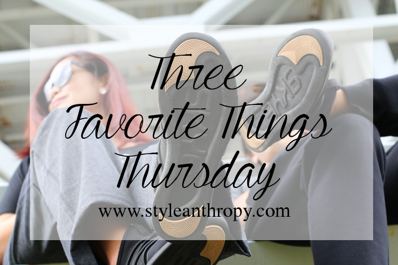 3 Fave Things Thursday: Sporty Couple Outfits