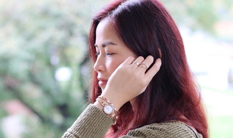 Anne Klein Watch and Bracelets