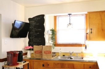 Giant Eagle Curbside Express Delivery + DIY Chalkboard Wall