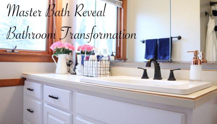 Bathroom Mini Renovation + Master Bath Reveal