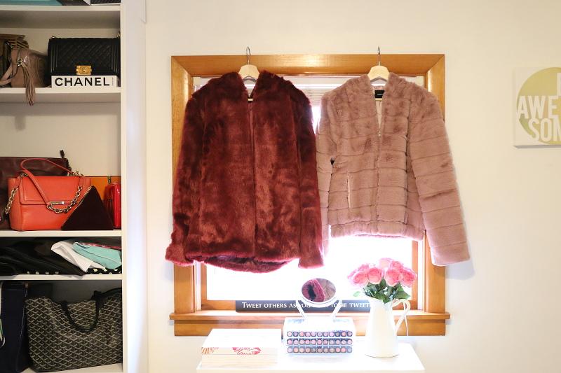 Tobi Coats Outerwear, fuzzy coat, faux fur, tobi