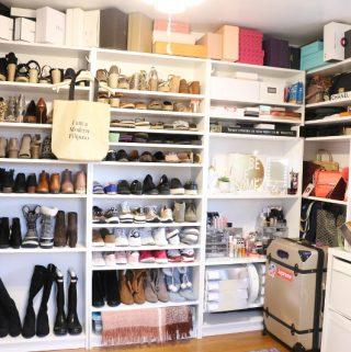Cloffice Reveal, Shoe, Bag, Jewelry, Beauty Shelf