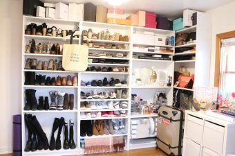 Cloffice Reveal, Shoe, Bag, Jewelry, Beauty Shelf