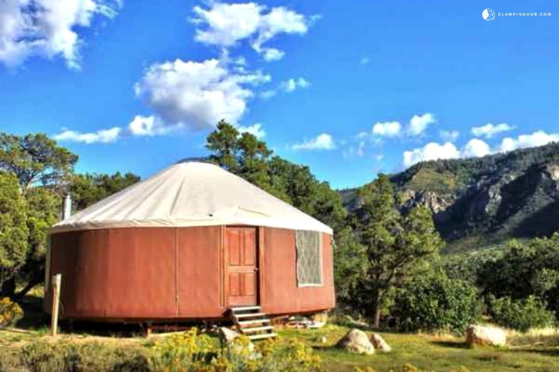pet-friendly-yurt-colorado