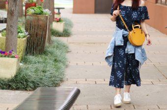 Off Shoulder Jumpsuit, Circle Bag Trend