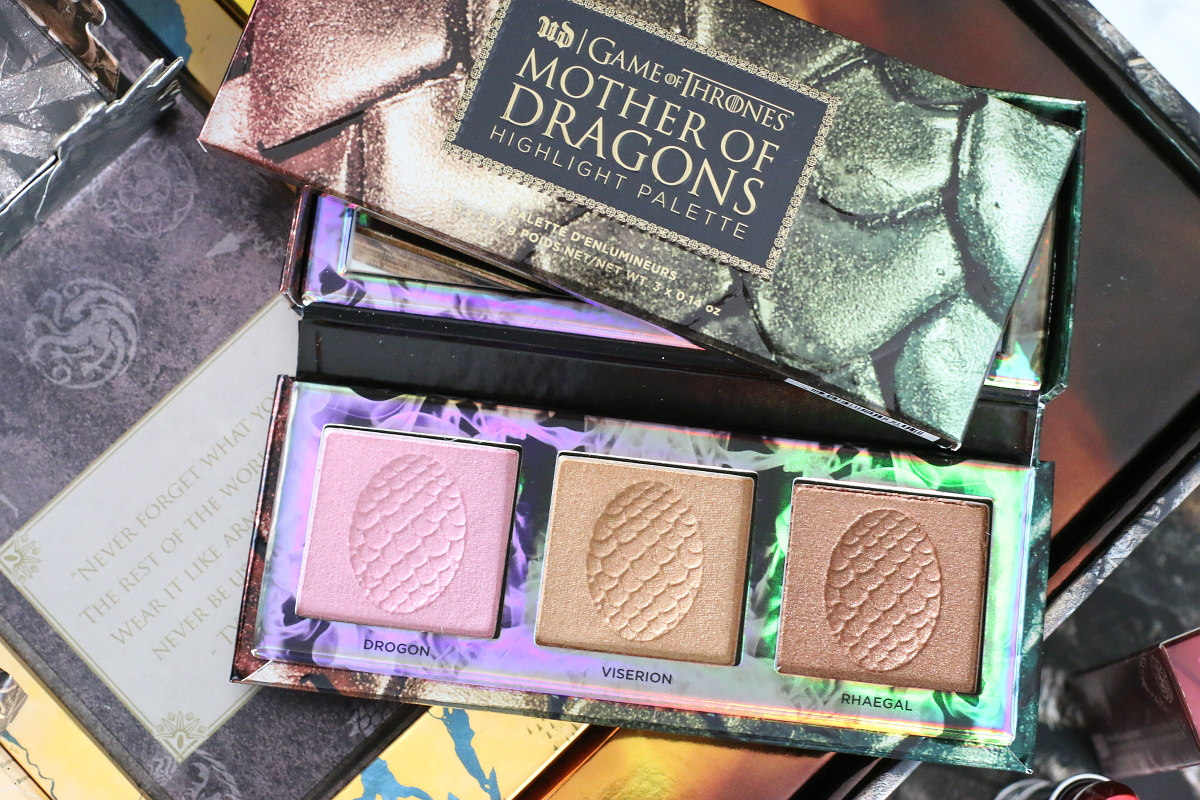 Urban Decay Cosmetics Game of Thrones Collection Makeup Look